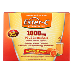 HGR1794726 - American Health - Ester-c 1000mg Orange - 21 Packets