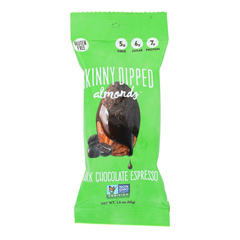 HGR1796614 - Skinny Dipped Almonds - Dark Chocolate Espresso - Case of 10 - 1.5 oz.