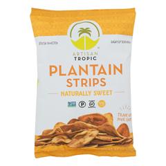 HGR1807700 - Artisan Tropic - Plantain Strips - Naturally Sweet - Case of 12 - 4.5 oz..