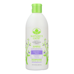 HGR1808047 - Nature's GateLavender Peony Replenishing Shampoo - Case of 1 - 18 Fl oz.