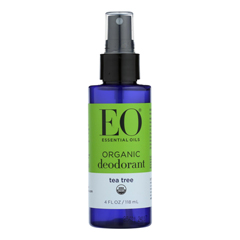 HGR1815299 - Eo Products - Deodorant Spray - Tea Tree - 4 Fl oz..
