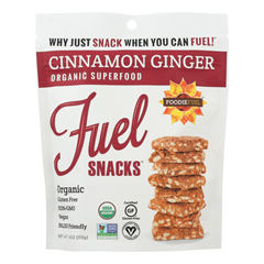 HGR1823772 - Foodie Fuel - Snacks - Cinnamon Ginger - Case of 6 - 4 oz..