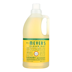 HGR1826924 - Mrs. Meyer's - Clean Day - Laundry Detergent - Honeysuckle - Case of 6 - 64 Fl oz..