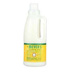 HGR1826973 - Mrs. Meyer's - Clean Day - Fabric Softener - Honey - Case of 6 - 32 Fl oz..