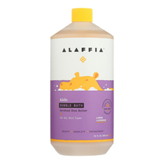 HGR1830595 - Alaffia - Everyday Bubble Bath - Lemon Lavender - 32 fl oz..