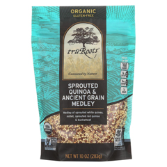 HGR1834225 - Truroots - Organic Trio Quinoa - Accents Sprouted - Case of 6 - 10 oz.