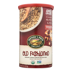 HGR1838218 - Nature's Path - Oats - Old Fashioned - Case of 6 - 18 oz..