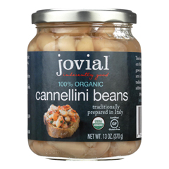 HGR1838598 - Jovial100 Percent Organic Cannellini Beans - Case of 6 - 13 oz.