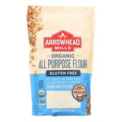 HGR1839737 - Arrowhead Mills - Organic Flour - All Purpose - Case of 6 - 20 oz.