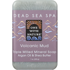 HGR1841659 - One With NatureMud Soap - Volcanic - Case of 6 - 7 oz.