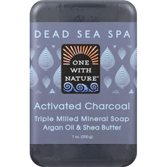HGR1841667 - One With NatureBar Soap - Charcoal - Case of 6 - 7 oz.
