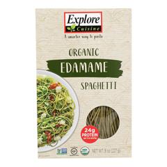 HGR1850494 - Explore Cuisine - Organic Edamame Spaghetti - Edamame Spaghetti - Case of 6 - 8 oz.
