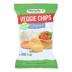 HGR1850981 - Simply7 - Veggie Chips - Original - Case of 12 - 4 oz..