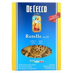 HGR1852334 - De Cecco Pasta - Rotelle - Wagonwheel - Case of 12 - 16 oz