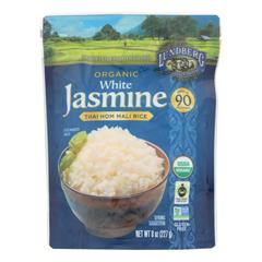 HGR1854793 - Lundberg Family Farms - Organic Thai Rice - White Jasmine - Case of 6 - 8 oz