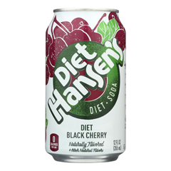 HGR1857671 - Hansen's Beverages - Soda - Sugar Free - Case of 4 - 12 Fl oz..