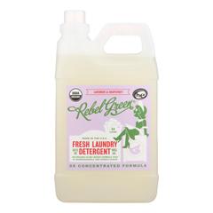 HGR1863281 - Rebel Green - Laundry Detergent - Lavender and Grapefruit - Case of 4 - 64 fl oz.