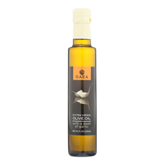 HGR1873090 - Gaea - Extra Virgin Olive Oil - With A Dash of Garlic - Case of 8 - 8.5 oz..