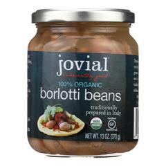 HGR1884832 - Jovial100 Percent Organic Borlotti Beans - Case of 6 - 13 oz