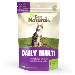 HGR1887595 - Pet Naturals of Vermont - Daily Multi Cat Chews - 1 Each - 30 CT