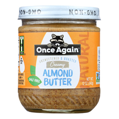 HGR1907856 - Once Again - Roasted Almond Butter - Case of 6 - 12 oz.