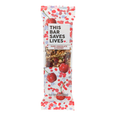 HGR1941319 - This Bar Saves Lives - Dark Chocolate Cherry and Sea Salt - Case of 12 - 1.4 oz..