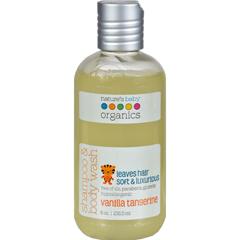 HGR0196485 - Nature's Baby OrganicsShampoo and Body Wash Vanilla Tangerine - 8 fl oz