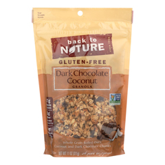 HGR01991413 - Back To Nature - Granola - Dark Chocolate Coconut - Case of 6 - 11 oz.