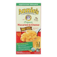 HGR2036648 - Annie's Homegrown - Organic Macaroni & Cheese - Case of 12 - 6 oz