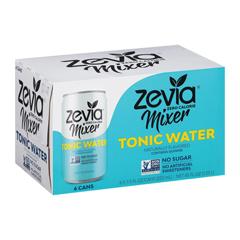 HGR2038560 - Zevia - Zero Calorie Mixer - Tonic Water - Case of 4 - 6/7.5 fl oz.