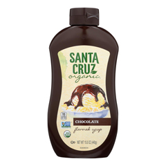 HGR2043727 - Santa Cruz Organic - Syrup - Organic - Chocolate - Case of 6 - 15.5 fl oz.