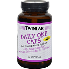 HGR0204768 - TwinlabDaily One Caps without Iron - 90 Capsules