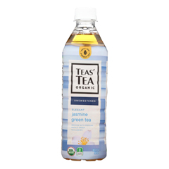 HGR2080562 - Ito En - Tea - Organic - Jasmine - Green - Bottle - Case of 12 - 16.9 fl oz.