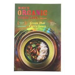 HGR2082592 - Mike's Organic Curry Love - Organic Curry Simmer Sauce - Green Thai - Case of 6 - 8.8 fl oz..