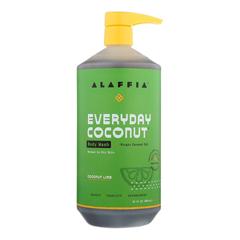 HGR2090264 - Alaffia - Everyday Body Wash - Coconut Lime - 32 fl oz..