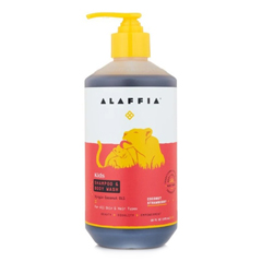 HGR2090777 - Alaffia - Everyday Shampoo and Body Wash - Coconut Strawberry - 16 fl oz..