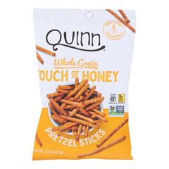 HGR2112407 - Quinn - Pretzel Sticks - Touch of Honey - Case of 36 - 1.5 oz..