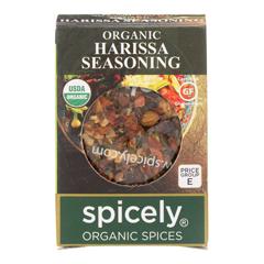 HGR2115723 - Spicely Organics - Organic Harissa Seasoning - Case of 6 - 0.3 oz..