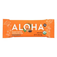 HGR2149011 - Aloha Bars - Peanut Butter Chocolate Chip - Case of 12 - 1.9 oz.