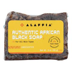 HGR2184836 - Alaffia - African Black Soap - Unscented - 3 oz..