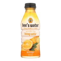 HGR2207579 - Bee's Water - Water Orange Honey - Case of 12 - 16 FZ