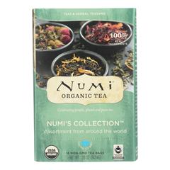 HGR2211332 - Numi Tea - Tea - Assorted - Numi Collection - Case of 6 - 16 BAG