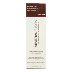 HGR2220861 - Mineral Fusion - Sheer Tint Mineral Foundation - Warm - 1.8 oz..