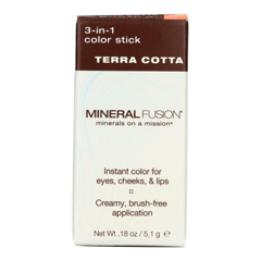 HGR2221174 - Mineral Fusion - 3-in-1 Color Stick - Terra Cotta - 0.18 oz..