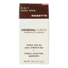 HGR2221182 - Mineral Fusion - 3-in-1 Color Stick - Rosette - 0.18 oz..
