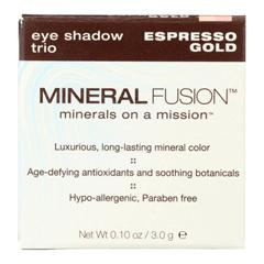 HGR2221497 - Mineral Fusion - Eye Shadow Trio - Esp Gold - 0.1 oz..