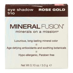 HGR2221554 - Mineral Fusion - Eye Shadow Trio - Rose Gold - 0.1 oz..