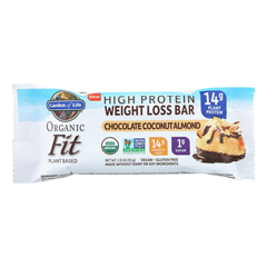 HGR2226868 - Garden of Life - Fit High Protein Bar Chocolate Coconut Almond - Case of 12 - 1.9 oz.