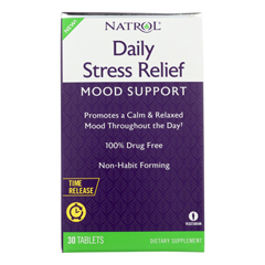HGR2251544 - Natrol - Daily Stress Mood Support - 1 Each - 30 TAB