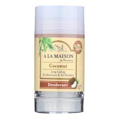 HGR2254126 - A La Maison - Deodorant - Coconut - 2.4 oz.